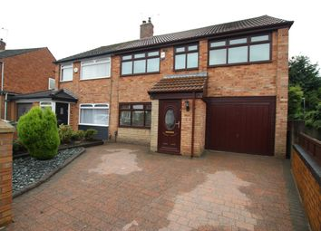 Thumbnail 5 bed semi-detached house for sale in Croxteth Drive, Rainford, Merseyside