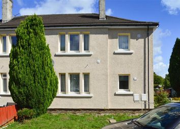 Thumbnail 2 bed flat for sale in Cardell Drive, Paisley