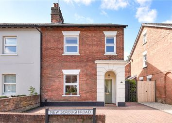 Thumbnail 4 bed semi-detached house for sale in New Borough Road, Wimborne