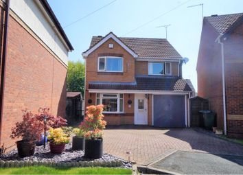 Thumbnail 4 bed detached house for sale in Bedworth Croft, Tipton