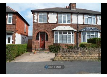 Thumbnail 3 bed semi-detached house to rent in Homefield Road, Nottingham