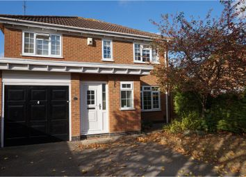 Thumbnail 4 bedroom detached house for sale in West Rising, Northampton