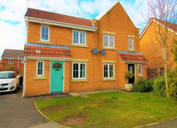 Thumbnail 3 bed semi-detached house for sale in Wessex Drive, Ince, Wigan
