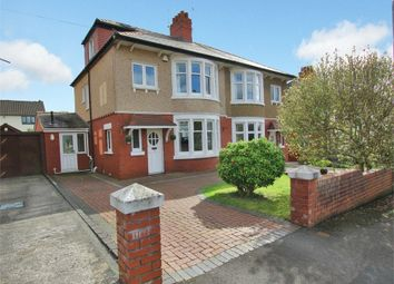 Thumbnail 3 bed semi-detached house for sale in Llandennis Avenue, Cyncoed, Cardiff