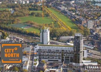 Thumbnail 1 bed flat for sale in Finsbury Park, London
