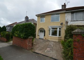 Thumbnail 3 bedroom semi-detached house for sale in Vivian Road, Sketty, Swansea