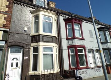 Thumbnail 4 bed terraced house to rent in Hawthorne Road, Bootle