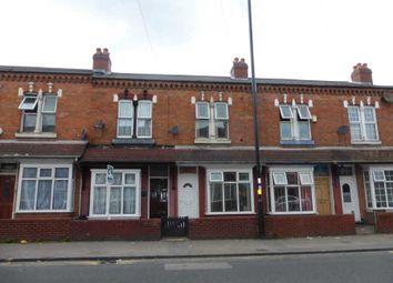 Thumbnail 3 bed terraced house to rent in Stoney Lane, Balsall Heath, Birmingham