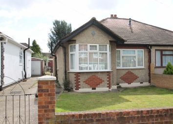 Thumbnail 2 bed semi-detached bungalow for sale in Sandown Way, Northolt, Middlesex