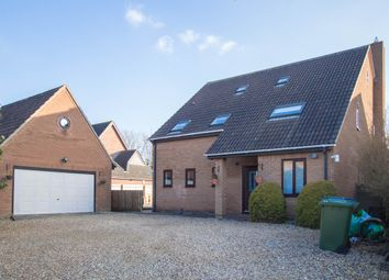 Thumbnail 4 bed detached house for sale in Hall Drive, Hardwick, Cambridge