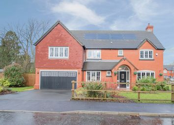 Thumbnail 5 bed detached house for sale in Emerald Drive, Croft, Warrington