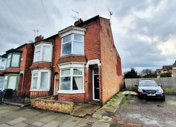 Thumbnail 3 bed terraced house for sale in Evesham Road, Leicester