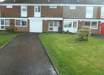 Thumbnail 3 bed terraced house to rent in Lutwyche Close, Church Stretton