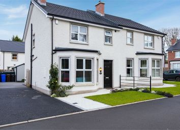 Thumbnail 3 bed semi-detached house for sale in Cornmill, Randalstown, Antrim