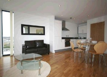 Thumbnail 1 bed flat to rent in Millennium Tower, 250 The Quays, Salford Quays