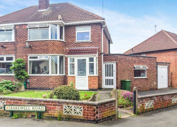 Thumbnail 3 bed semi-detached house for sale in Bakewell Road, Wigston