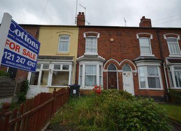 Thumbnail 2 bed terraced house for sale in Moor Green Lane, Moseley, Birmingham