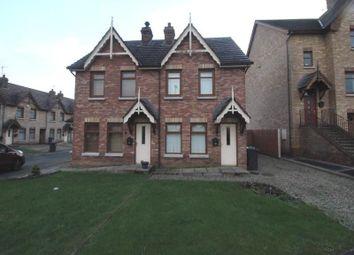 Thumbnail 2 bedroom semi-detached house for sale in Stonebridge Green, Conlig, Newtownards