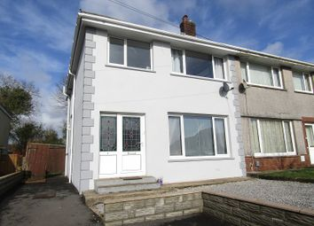 Thumbnail 3 bed semi-detached house for sale in Mynydd Garnllwyd Road, Morriston, Swansea, City And County Of Swansea.
