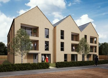 Thumbnail 2 bedroom flat for sale in The Coats, Plot 44, 48, Divot Way, Basingstoke, Hampshire