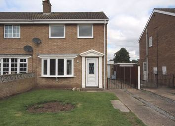 Thumbnail 3 bed semi-detached house to rent in South Parkway, Snaith, Goole