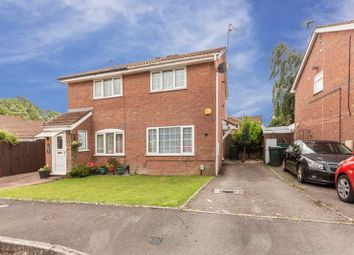 Thumbnail 2 bed semi-detached house for sale in Brython Drive, St. Mellons, Cardiff