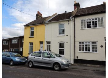 Thumbnail 4 bed terraced house for sale in Cavendish Road, Rochester