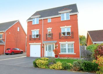 Thumbnail 4 bed detached house for sale in Hawksey Drive, Stapeley, Nantwich