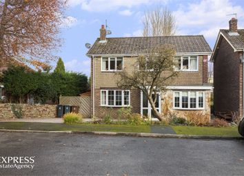 Thumbnail 4 bed detached house for sale in Melanie Close, Glossop, Derbyshire