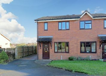 Thumbnail 2 bed semi-detached house for sale in Marchwood Close, Bridgnorth