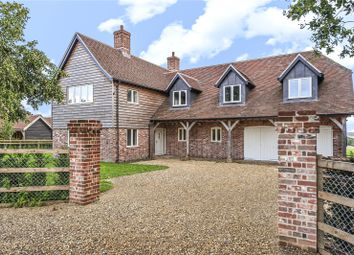 Thumbnail 5 bed detached house for sale in Plantation House, Weston Lane, West Winterslow