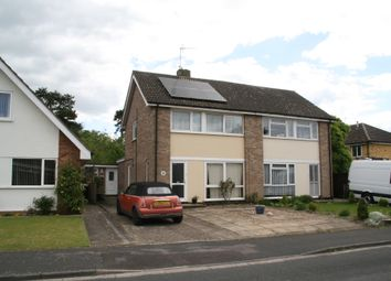 Thumbnail 3 bed semi-detached house for sale in Elvedon Way, Newmarket