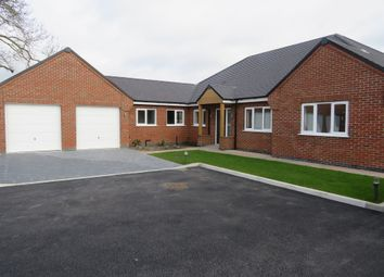 Thumbnail 4 bed detached bungalow for sale in Adams Way, Marton, Gainsborough