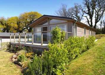 Thumbnail 3 bed bungalow for sale in Robin Lodge, Moor View Holiday Lodges, Higher Wood, Modbury, Devon
