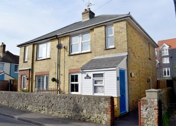 Thumbnail 2 bedroom semi-detached house for sale in Windmill Street, Hythe