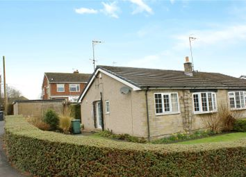 Thumbnail 2 bed semi-detached bungalow for sale in Mowbray Close, Cullingworth, Bradford, West Yorkshire