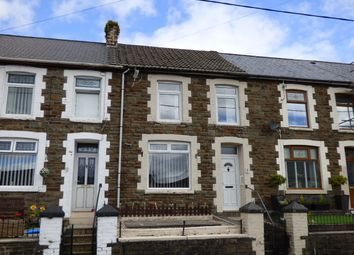 Thumbnail 4 bed terraced house for sale in Bryn Bedw, Blaengarw, Bridgend