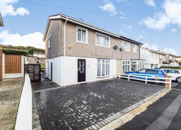 Thumbnail 3 bed semi-detached house for sale in Burrow Road, Chigwell
