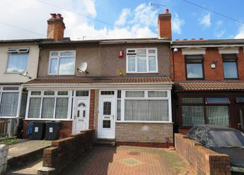 Thumbnail 3 bed terraced house for sale in Heather Road, Small Heath, Birmingham