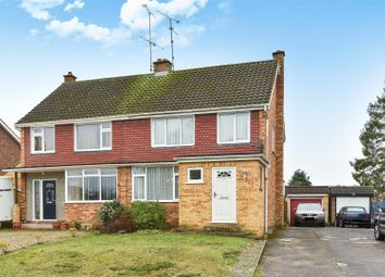 3 bed semi-detached house for sale in Purcell Road, Crowthorne, Berkshire RG45