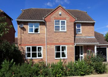Thumbnail 3 bed detached house for sale in Aquila Way, Langtoft, Peterborough