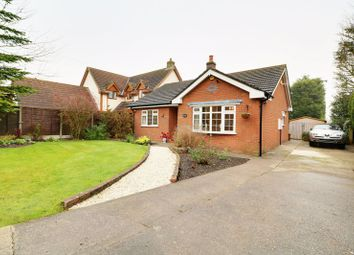 Thumbnail 2 bed detached bungalow for sale in Station Road, Grasby, Barnetby