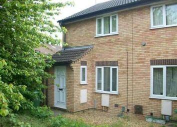 Thumbnail 2 bed end terrace house to rent in Swale Avenue, Gunthorpe, Peterborough