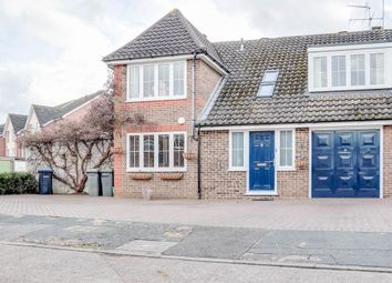 Thumbnail 4 bed semi-detached house for sale in Roakes Avenue, Addlestone