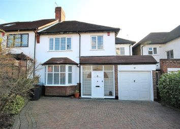 Thumbnail 3 bed semi-detached house for sale in Forestdale, Southgate, London
