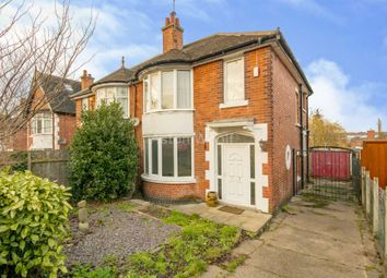Thumbnail 3 bedroom semi-detached house to rent in Costock Avenue, Sherwood, Nottingham