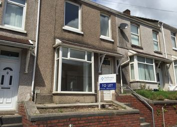 Thumbnail 2 bed terraced house to rent in Megan Street, Swansea