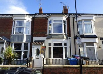 Thumbnail 2 bed terraced house for sale in De La Pole Avenue, Hull, East Yorkshire