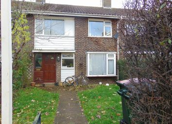 Thumbnail 3 bed terraced house to rent in Thatcher Close, Crawley
