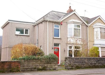 Thumbnail 3 bed semi-detached house for sale in Brecon Road, Pontardawe, Swansea, City And County Of Swansea.
